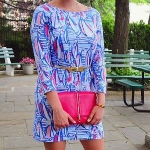 Lilly Pulitzer Sailboat Cotton Dress